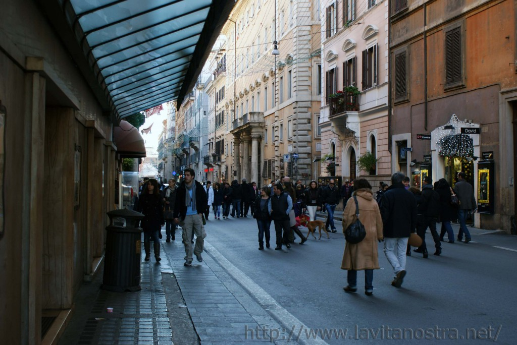 Площадь Пополо в Риме 14