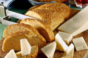 Итальянский хлеб с кунжутом