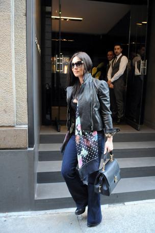 Моника Беллуччи в Милане 2