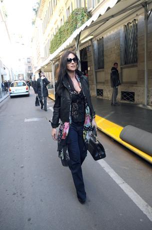 Моника Беллуччи в Милане 4