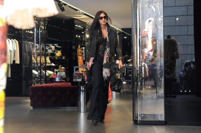 Моника Беллуччи в Милане
