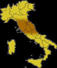 Centralnaya Italia karta 2