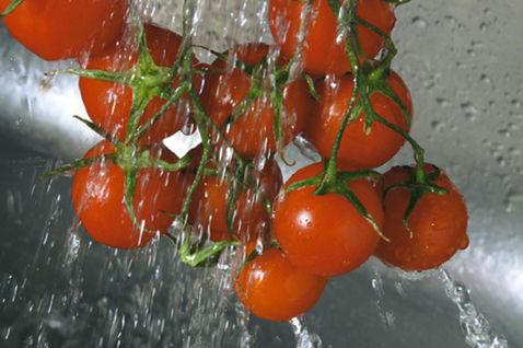 Паста с помидорами черри 2