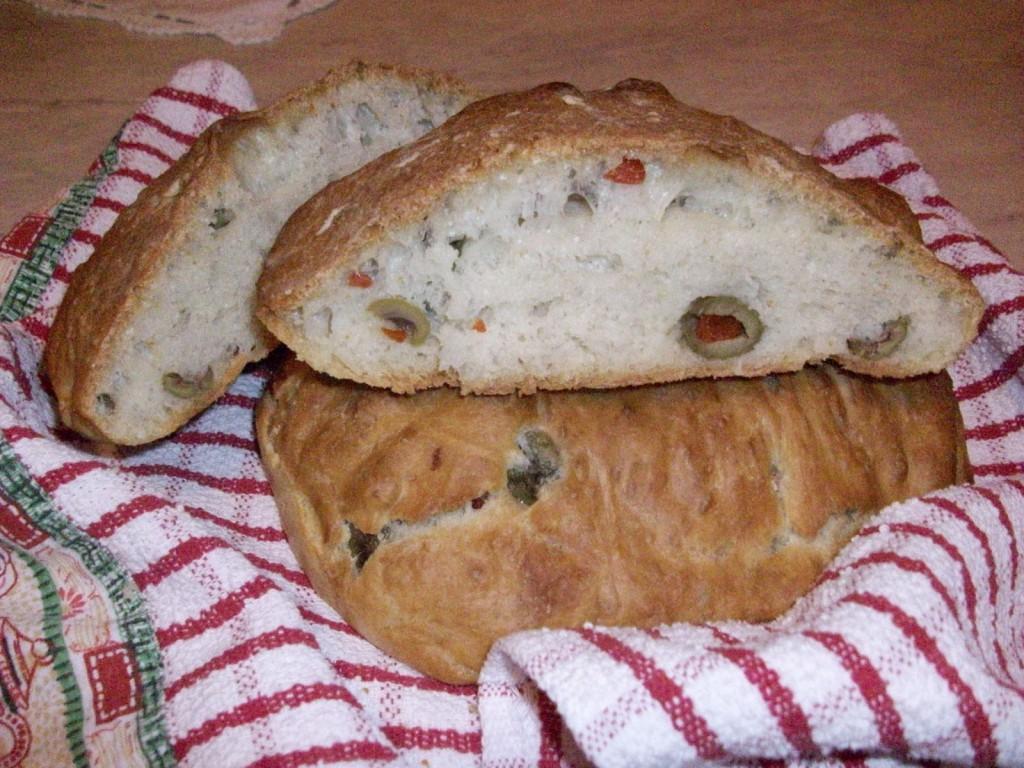 хлеб с оливами 2