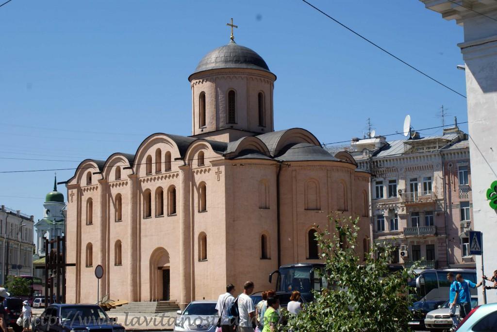 Zerkov na kievskom Podole