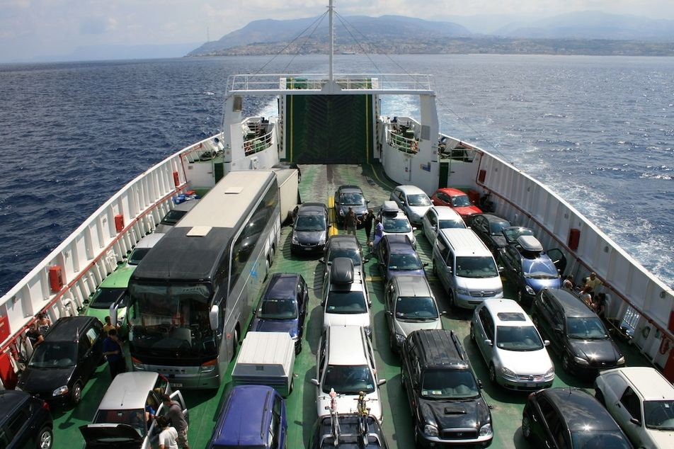 Transport v italii parom