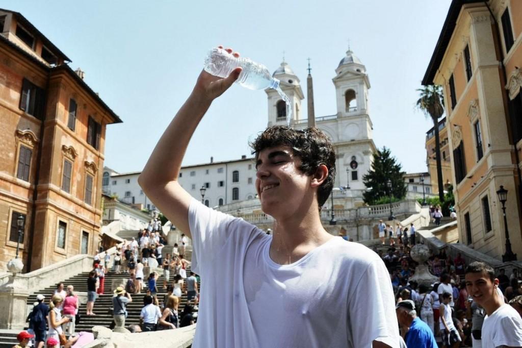 Rim v avguste 2