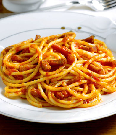 Bucatini Amatrichiana 1
