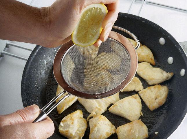 Escalop s limonom prigotovleniye 2