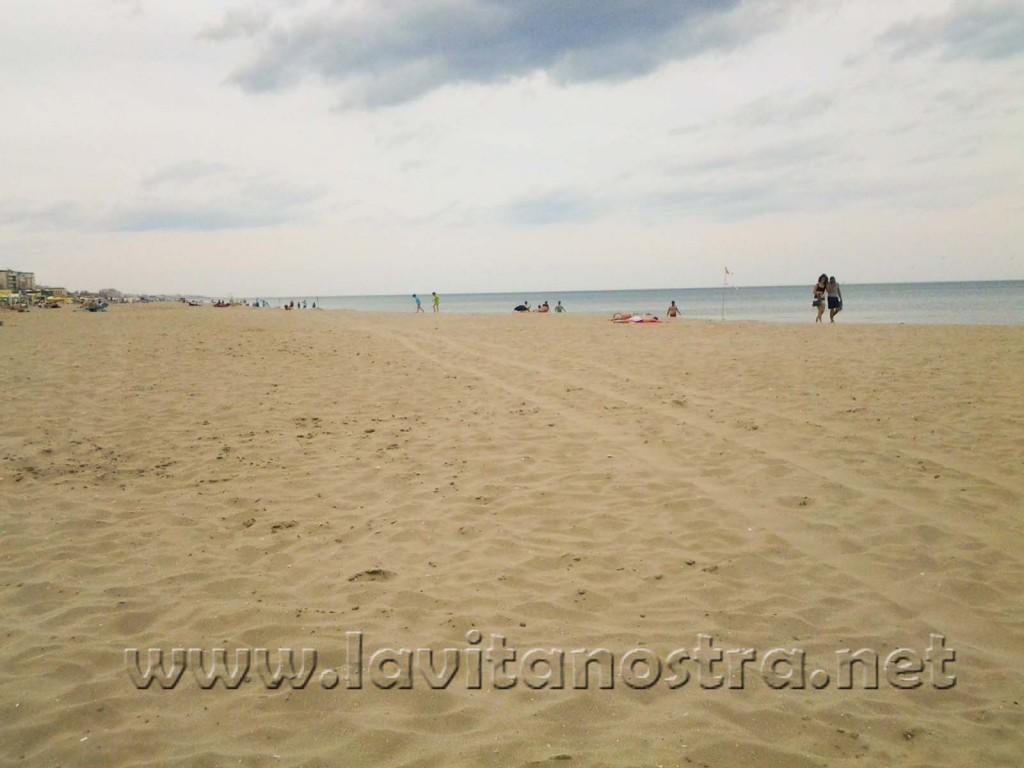 Риччионе-пляж