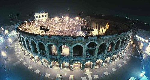 Маршрут самостоятельного путешествия по Вероне к Римской арене