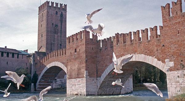 Прогулка по Вероне в крепость Кастельвеккио