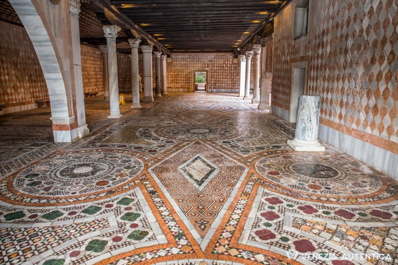 Ca D'Oro mosaika Venezia