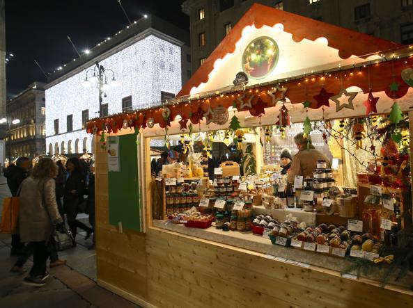 Rogdestvenskiy bazar v Milane